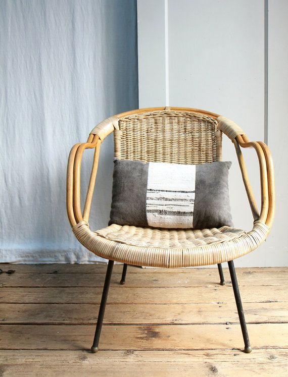 Vintage Mid Century Arthur Umanoff Style Wicker Basket Chair On Etsy, Sold