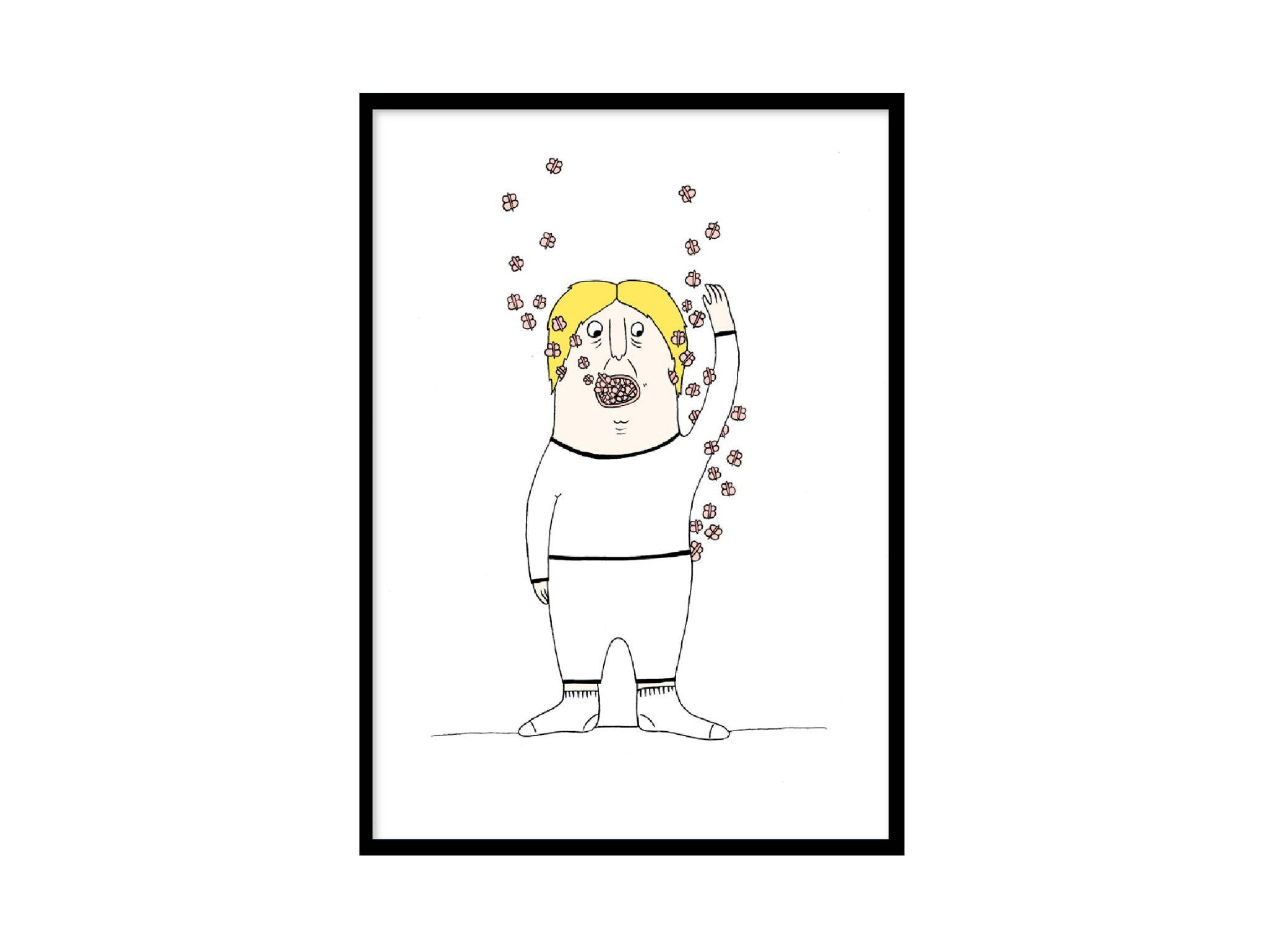 WHEN BEING IN LOVE - BUTTERFLIES by Bob & Friends