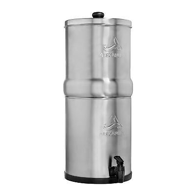 Alexapure Pro Stainless Steel Water Filter Purification Filtration Purify System Water Filtration System Steel Water Water Filter