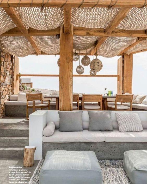 35 Beachy Boho Patio Ideas To Try This Summer Terrazza