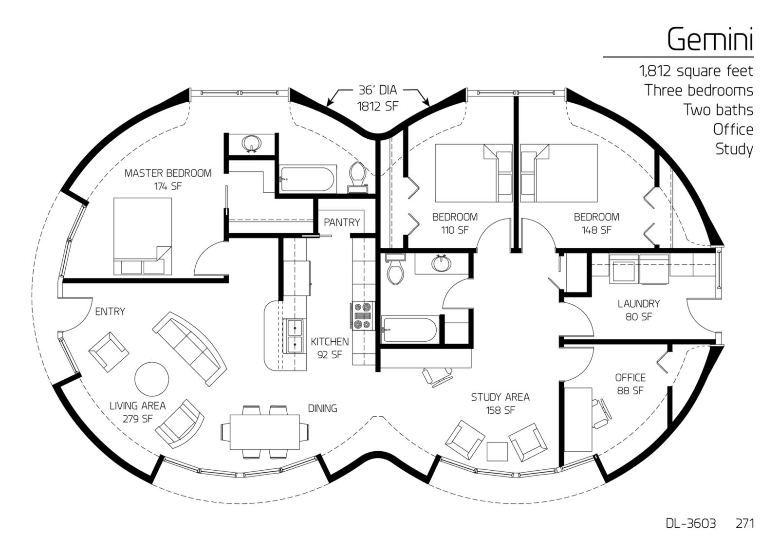 1,812 square feet Three bedrooms Two baths | Cob/Mud Homes ...