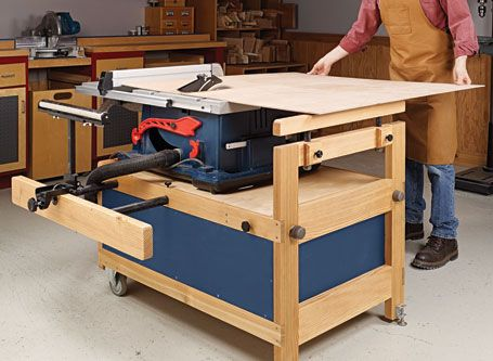 Table Saw Stand Woodsmith Plans Table Saw Stand Table Saw Router Table Plans