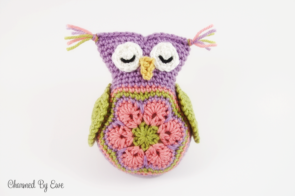 Free Sleepy Owl Toy Crochet Pattern | crochet | Pinterest | Owl ...
