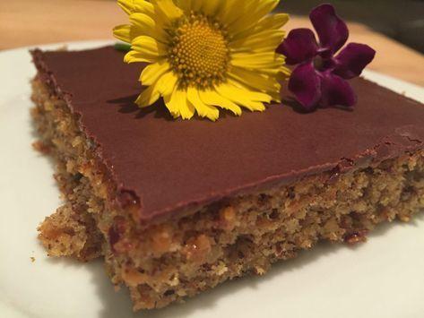 Backen mit Christina …   Karotten-Nuss Kuchen