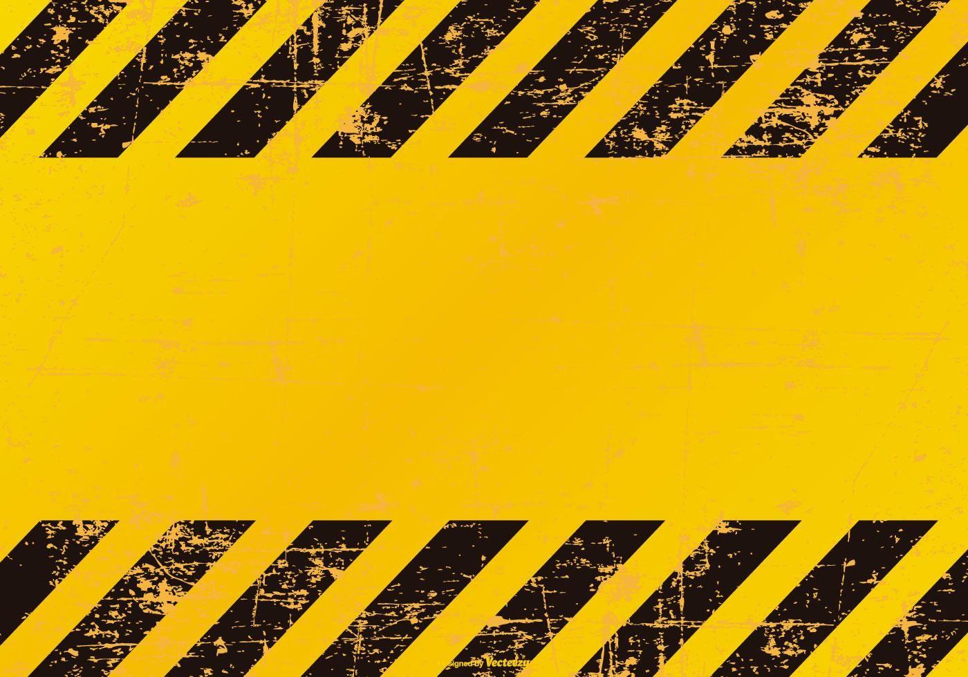 Grunge Danger Caution Background Must Attribute Click For Details Photo Logo Design Background Vector Art