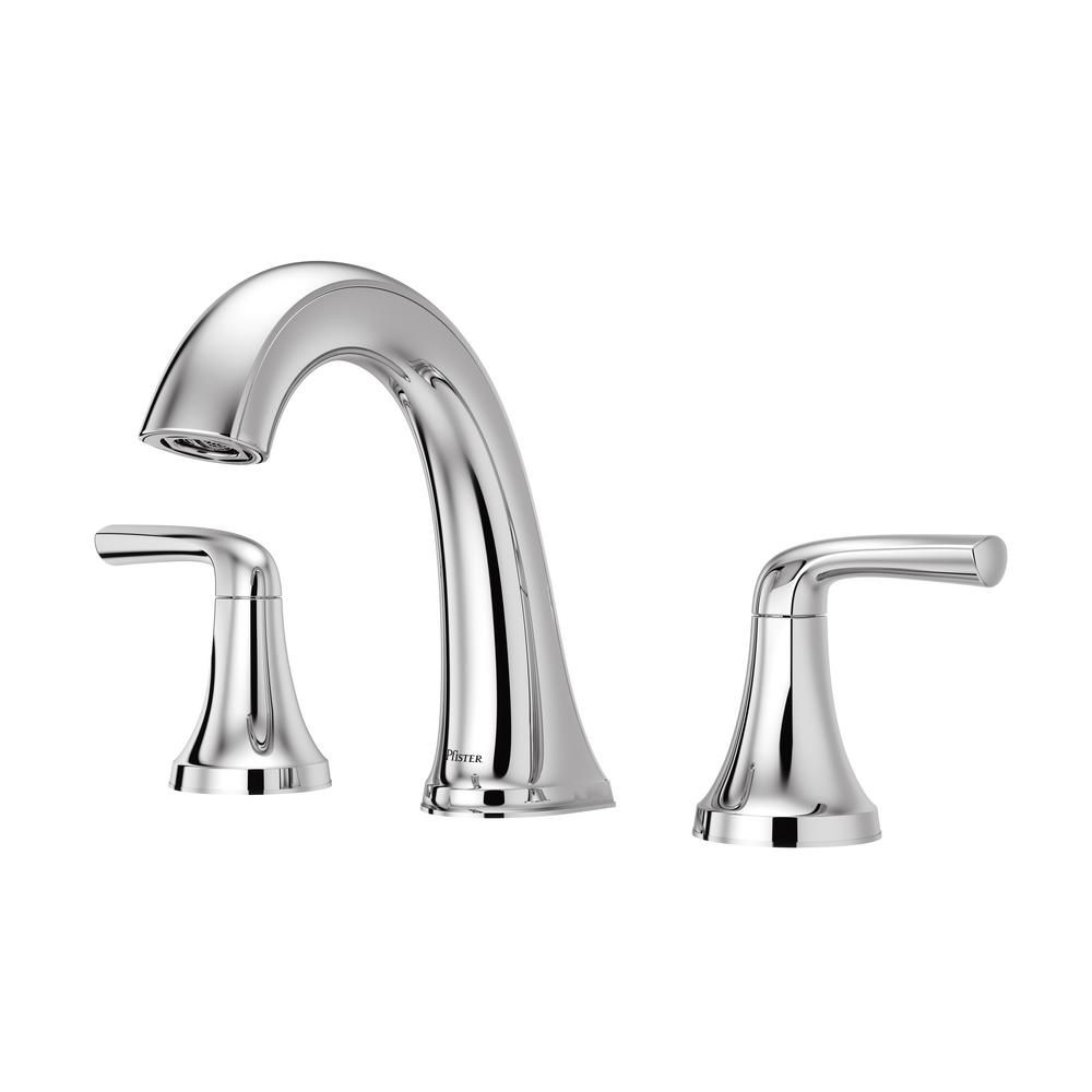 Pfister Ladera 8 in. Widespread 2-Handle Bathroom Faucet in Polished ...