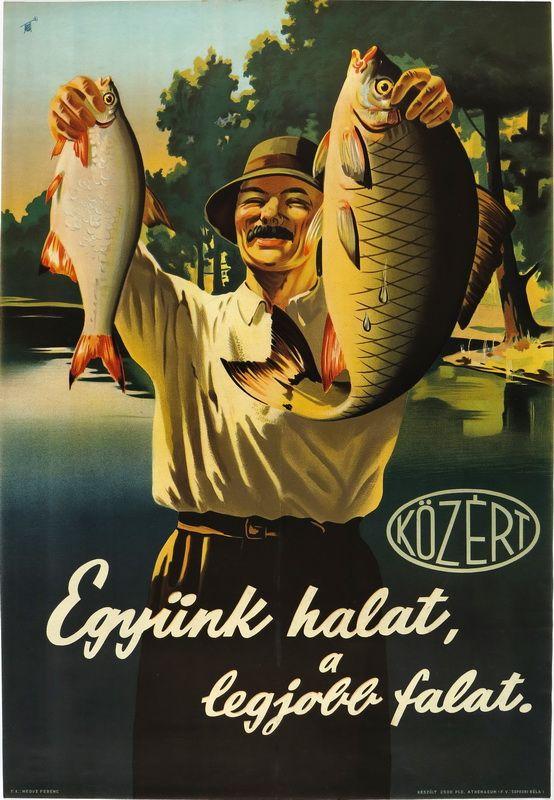 Együnk halat, a legjobb falat. 1955