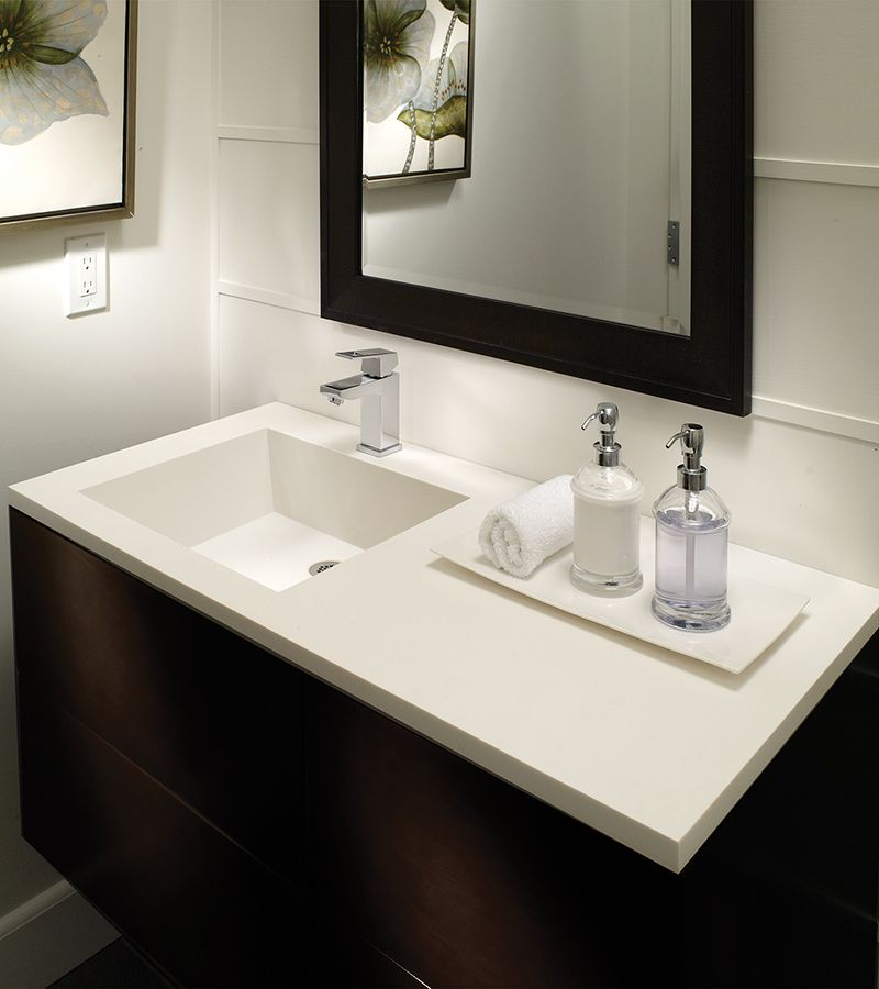 The Petra Counter Sink 1 Bowl Is Seamlessly Integrated In A