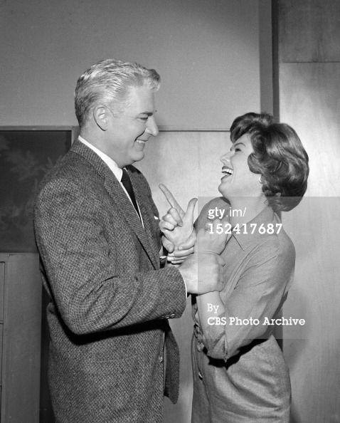 Della and Paul both reach for the gun! Barbara Hale, William Hoppe