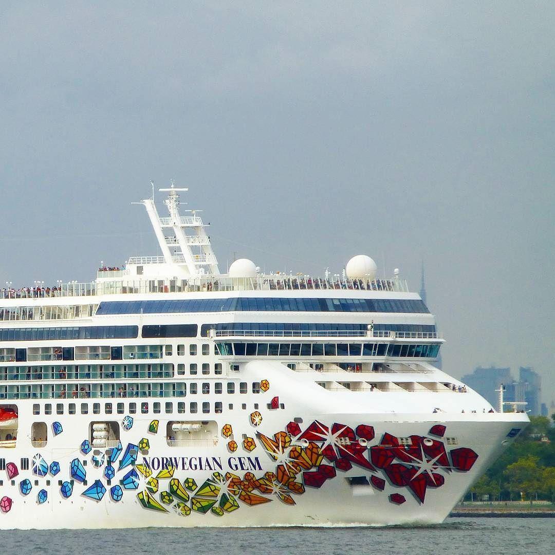 Norwegian Gem Leaving NYC Cruisingdave Cruise Cruising - Cruise ships from nyc