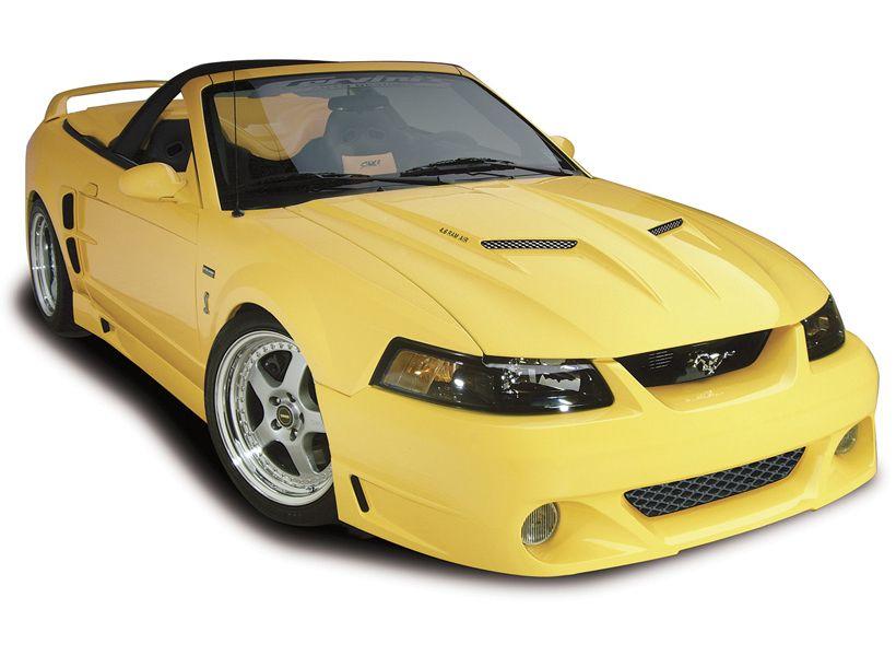 99 04 Mustang 10 Piece Stalker Kit Mustang Mustang Club Bumpers