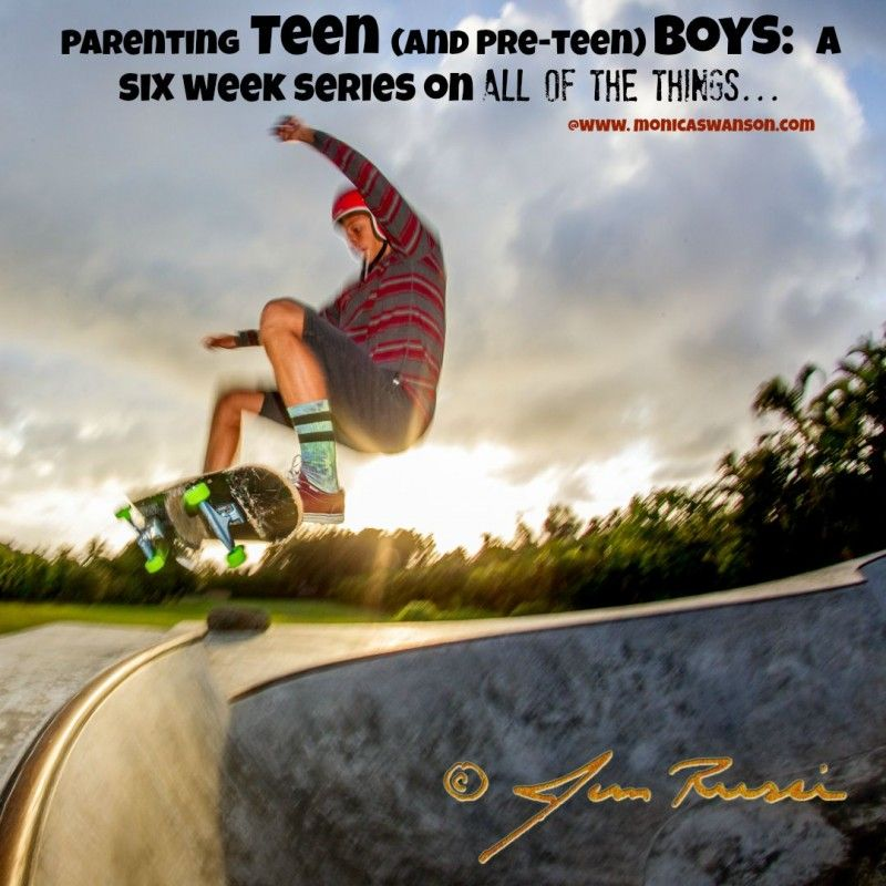 Photo of Introducing: A Six Week Series on Parenting Teen (and Pre-Teen) Boys