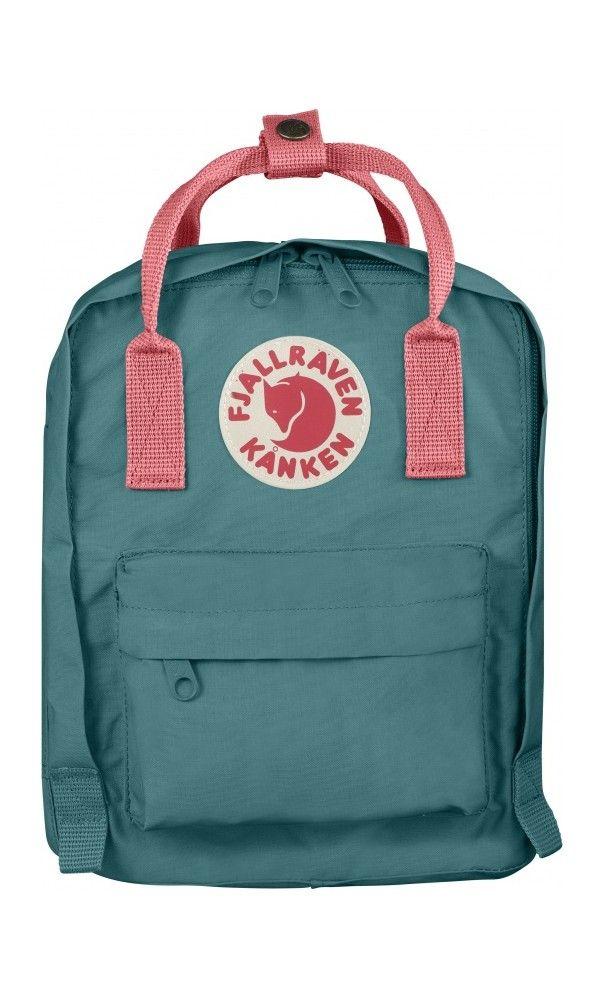 fd66a08f0dc Fjallraven Kånken Kids Backpack Frost Green Peach Pink - Fjallraven ...