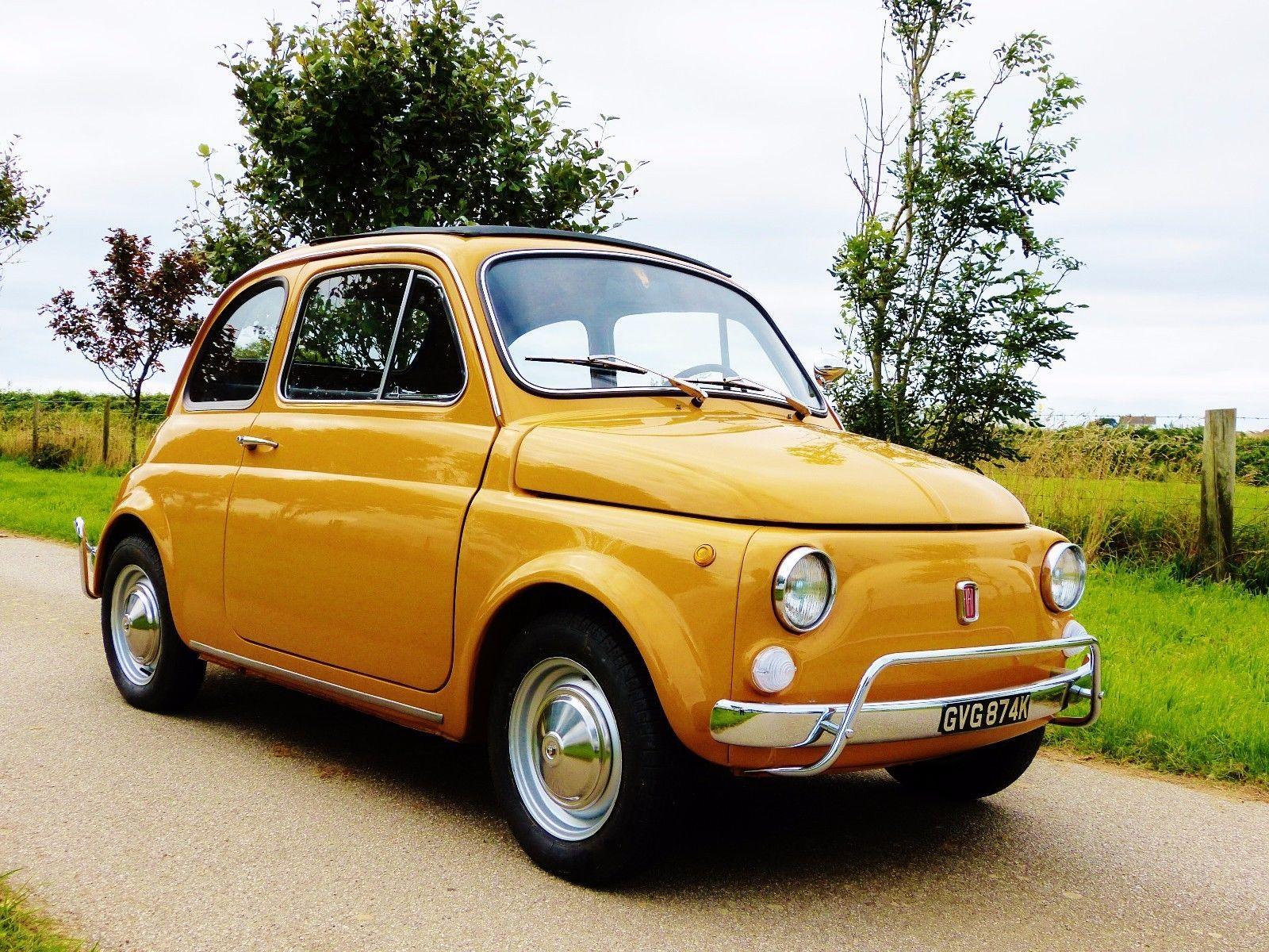 Vintage Classic Fiat 500l 1972 Lusso Fully Restored New Mot Uk