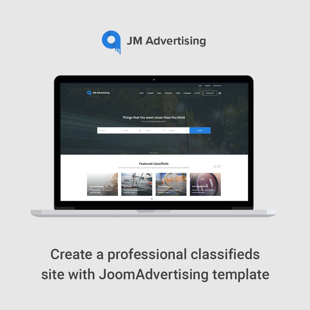 Create a professional classifieds site with JoomAdvertising ...