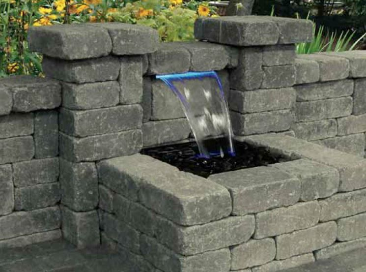 wall water feature kits - Google-søk Uteliv Pinterest