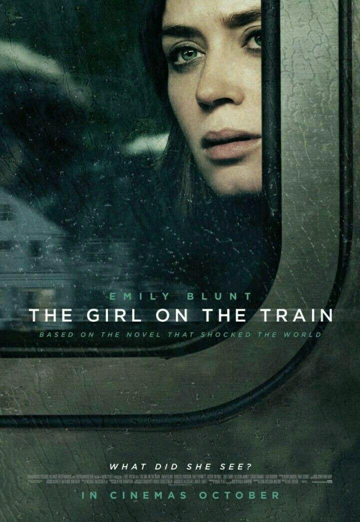 The Girl On The Train Peliculas Peliculas Cine Posters Peliculas
