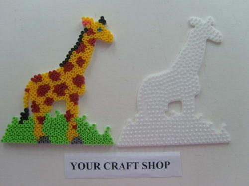 Giraffe Hama bead board number 292