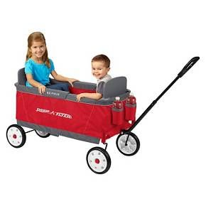 Radio Flyer Ez Fold Wagon Without Canopy Radio Flyer Folding Wagon Pull Wagon