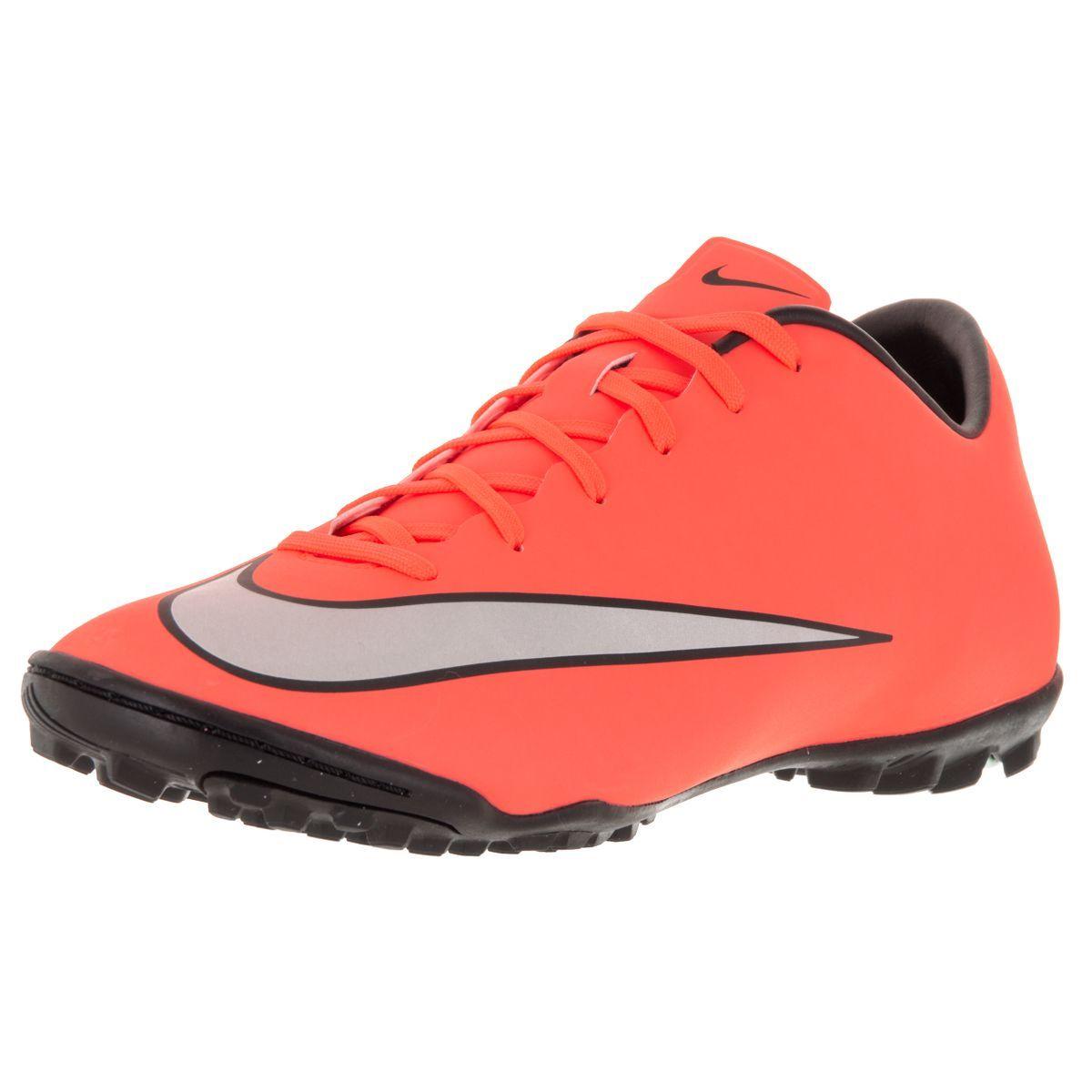Nike Men's Mercurial Victory V Tf Brightt Magenta/ Silver/ Trq Turf Soccer Shoe