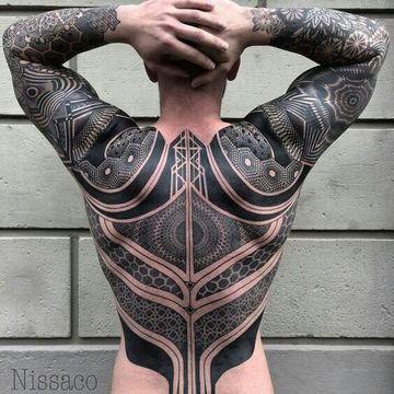Extraordinarios Tatuajes Grandes En La Espalda Tatoos Pinterest