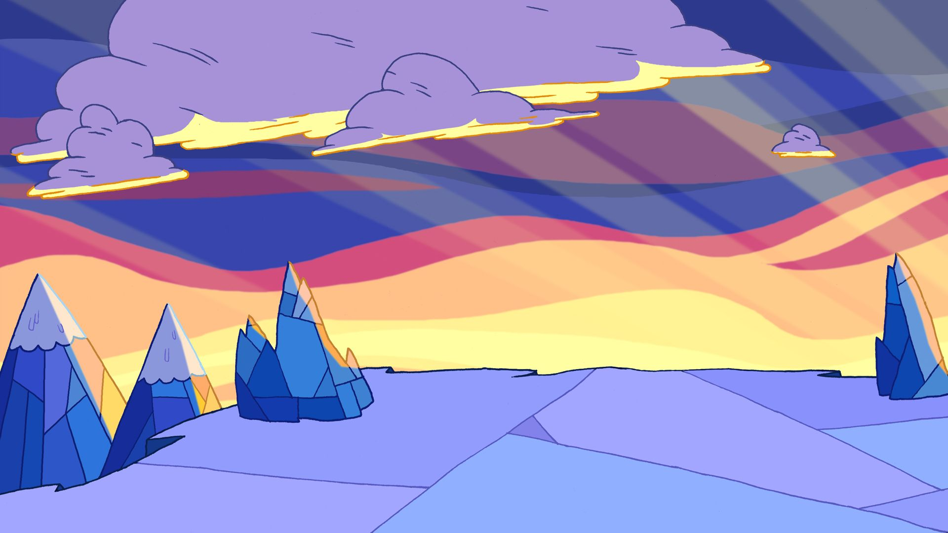 Adventure Time Landscape Hd Wallpaper 1920x1080 Adventure Time Background Adventure Time Wallpaper Adventure Time