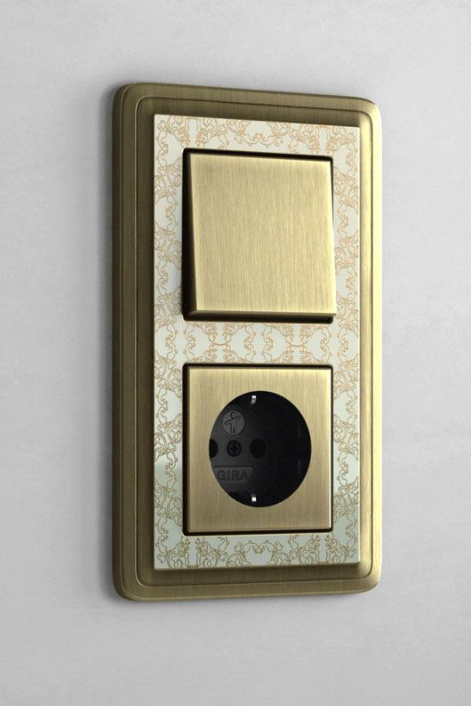 Lichtschalter Mit Auffalligem Design Steckdosen Und Lichtschalter Lichtschalter Schalter