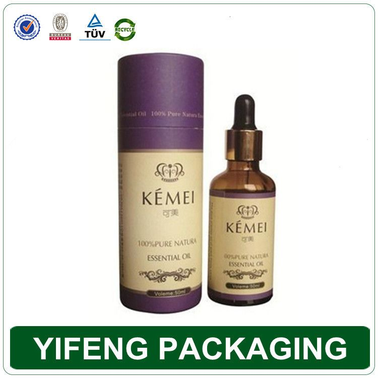 rolled edge lid custom printing essential oil bottle tube packaging box, View essential oil bottle tube packaging box , YIFENG Product Details from Guangzhou Yifeng Printing & Packaging Co., Ltd. on Alibaba.com