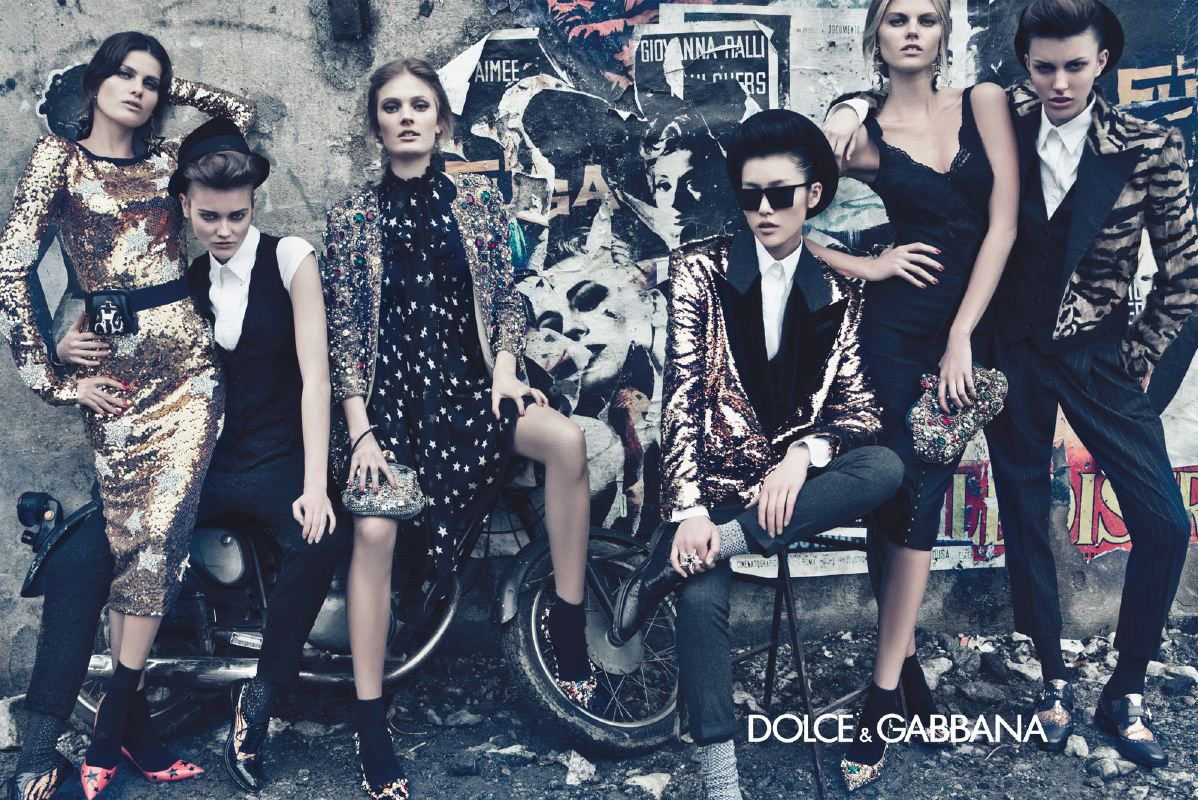 sparkles; dolce and gabbana