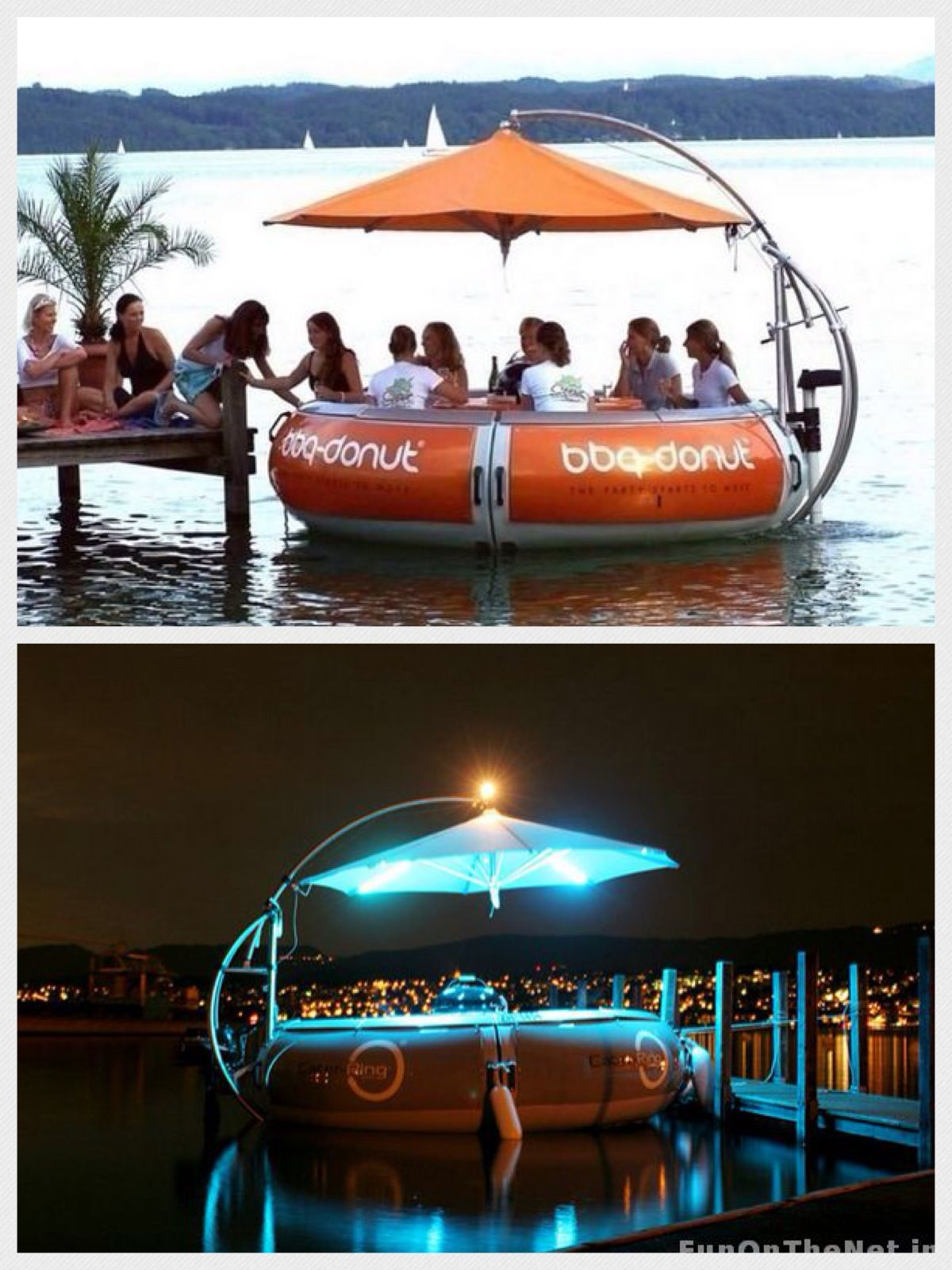 Dubai - BBQ Donut Boat | Dubai (UAE) | Dubai travel, Inflatable ...