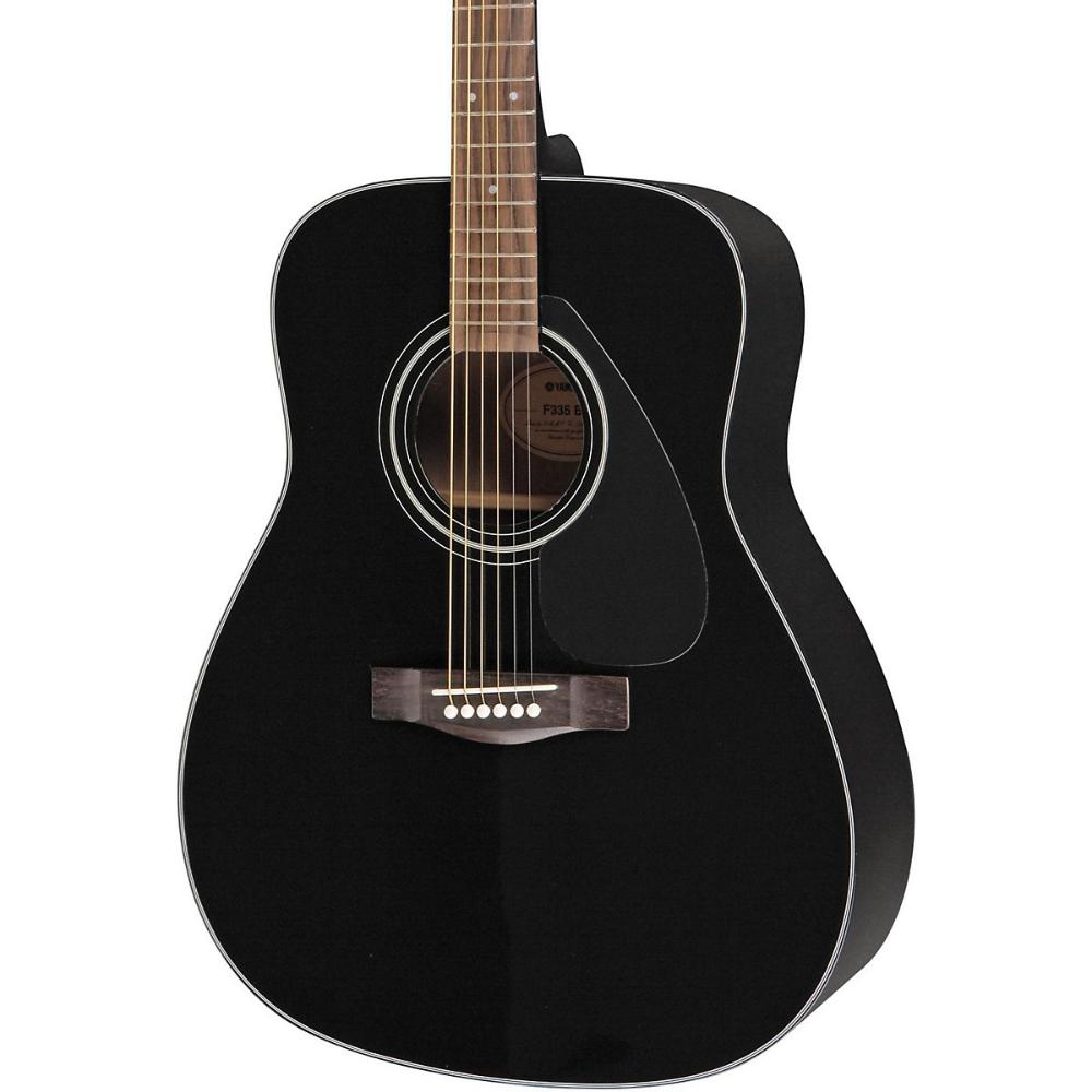 Yamaha F335 Acoustic Guitar Black Acoustic Guitar Yamaha Guitar Acoustic Guitar