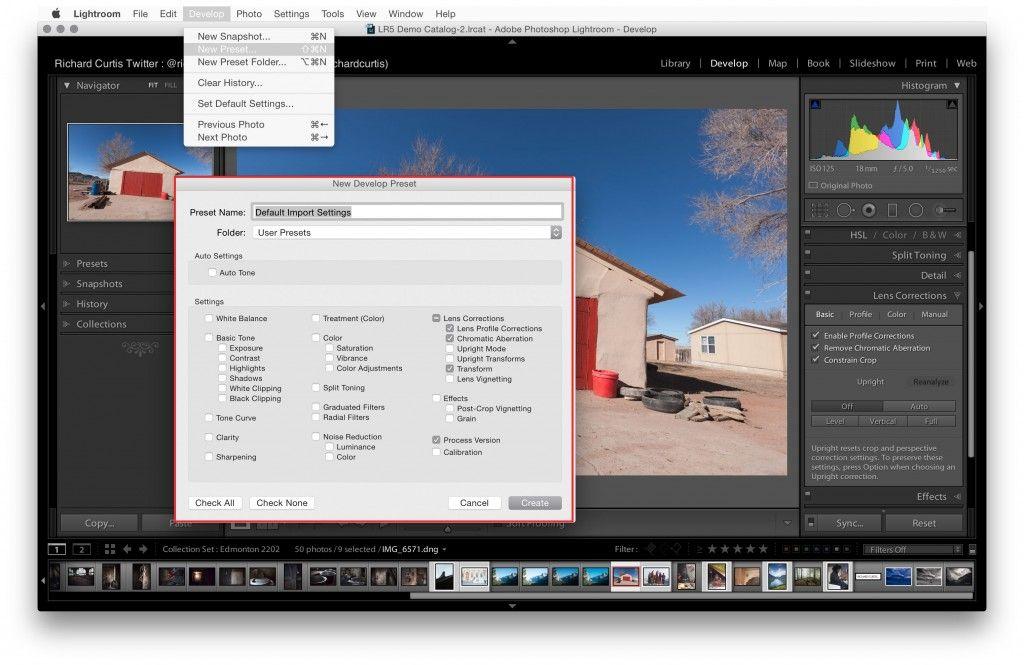 CreativeFriday Applying Basic Development Settings on