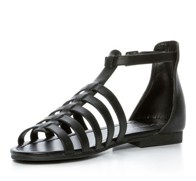 681307d871d4 Din Sko Sandaler Sandal Skinnimitation Svart