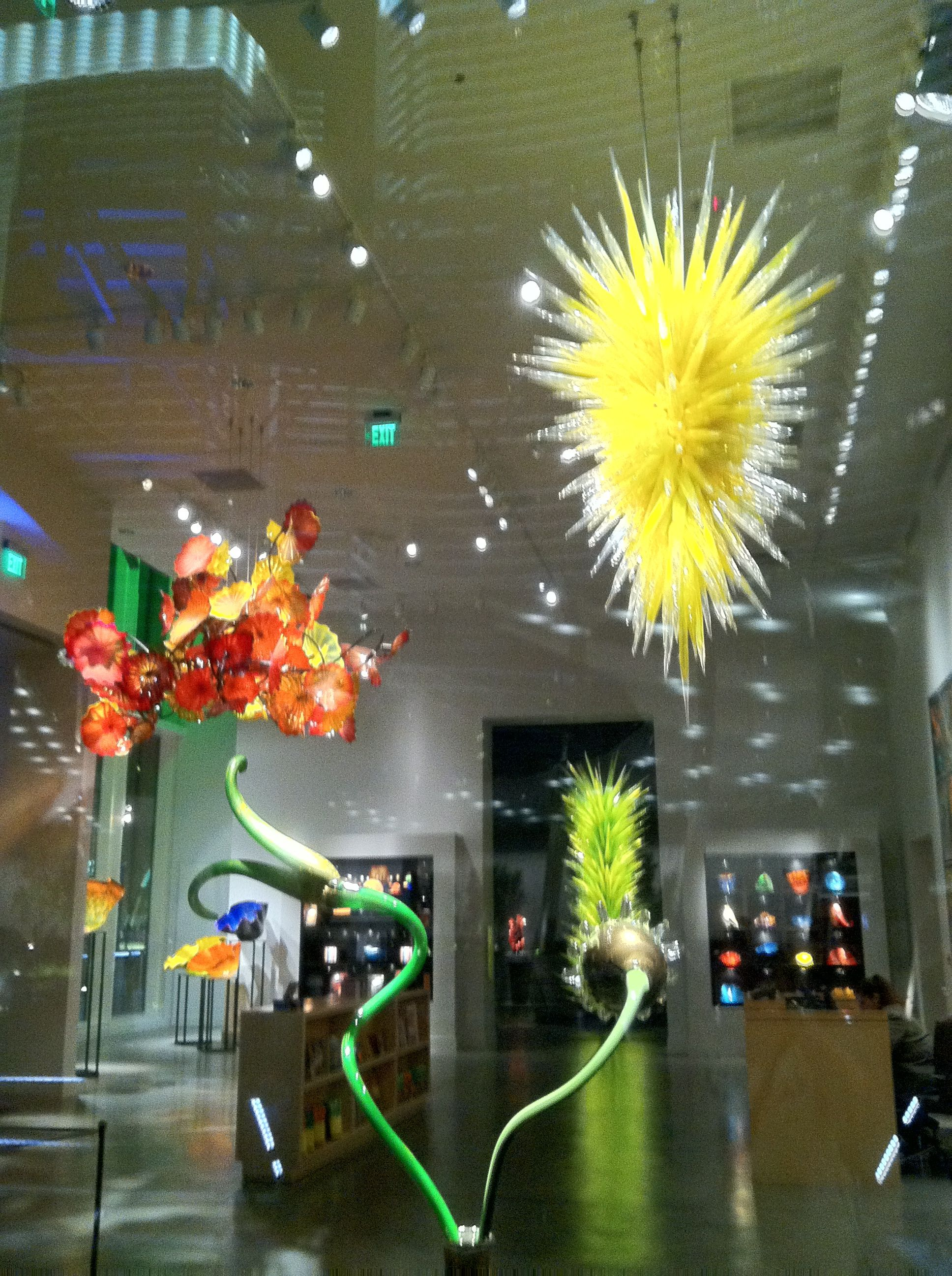 Dale Chihuly art glass shop in Vegas