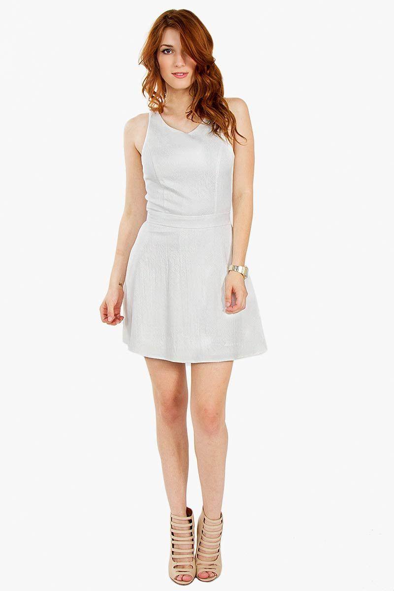 White Now Dress