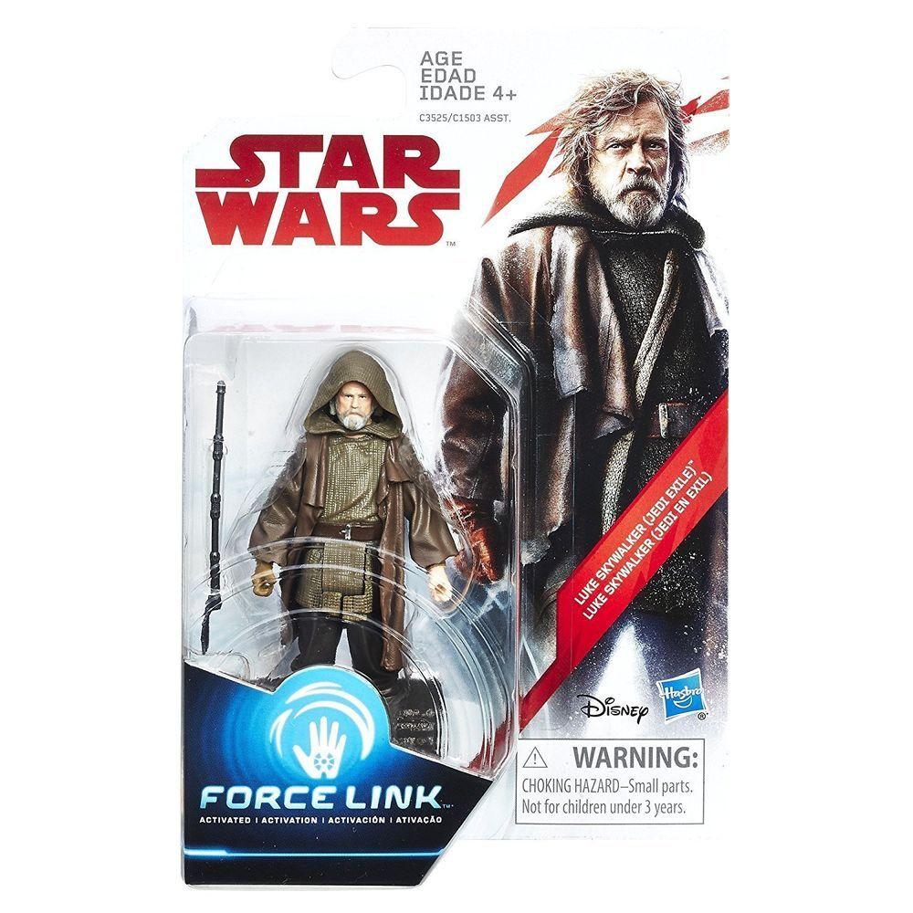 """MOC IN STOCK Star Wars the Last Jedi Luke Skywalker Jedi Exile 3.75/"""" Figure"""