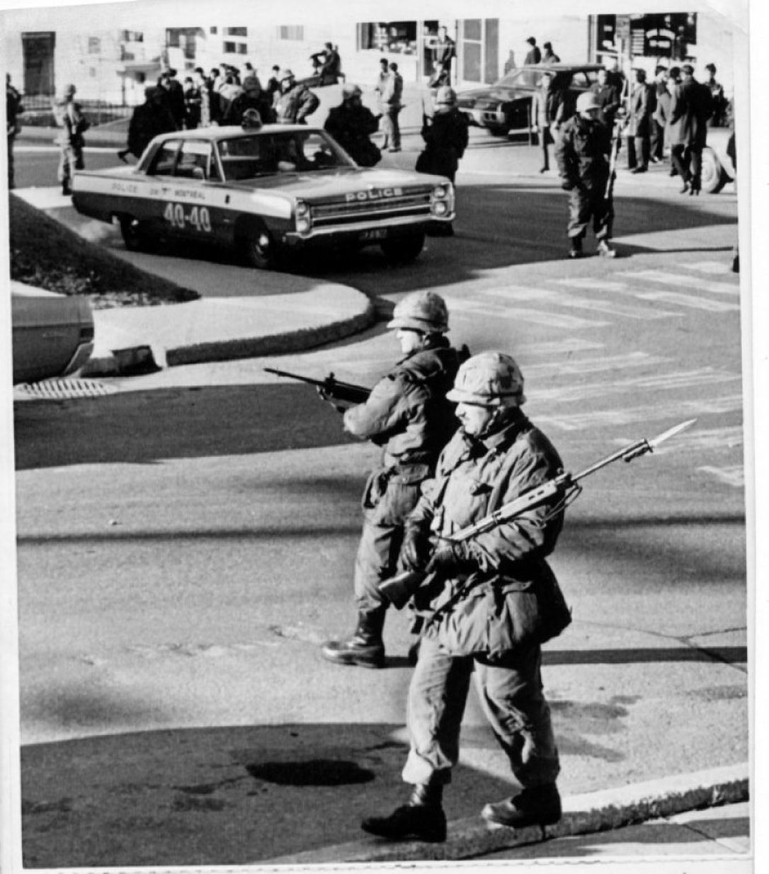 October Crisis 1970 October Crisis Canadian History Canadian Army