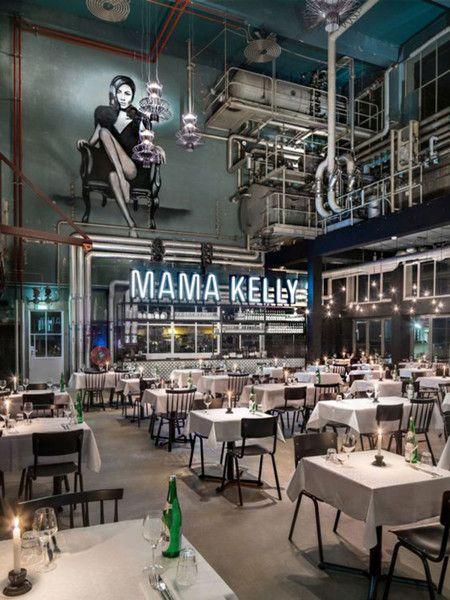21 restaurantes con los interiores m s sorprendentes del for Interiores de restaurantes