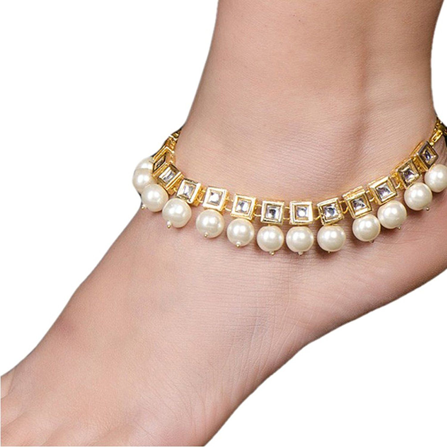 jewelry wedding anklet with crystal heels fancy barefoot toe ring sandal chain foot beach rhinestone high
