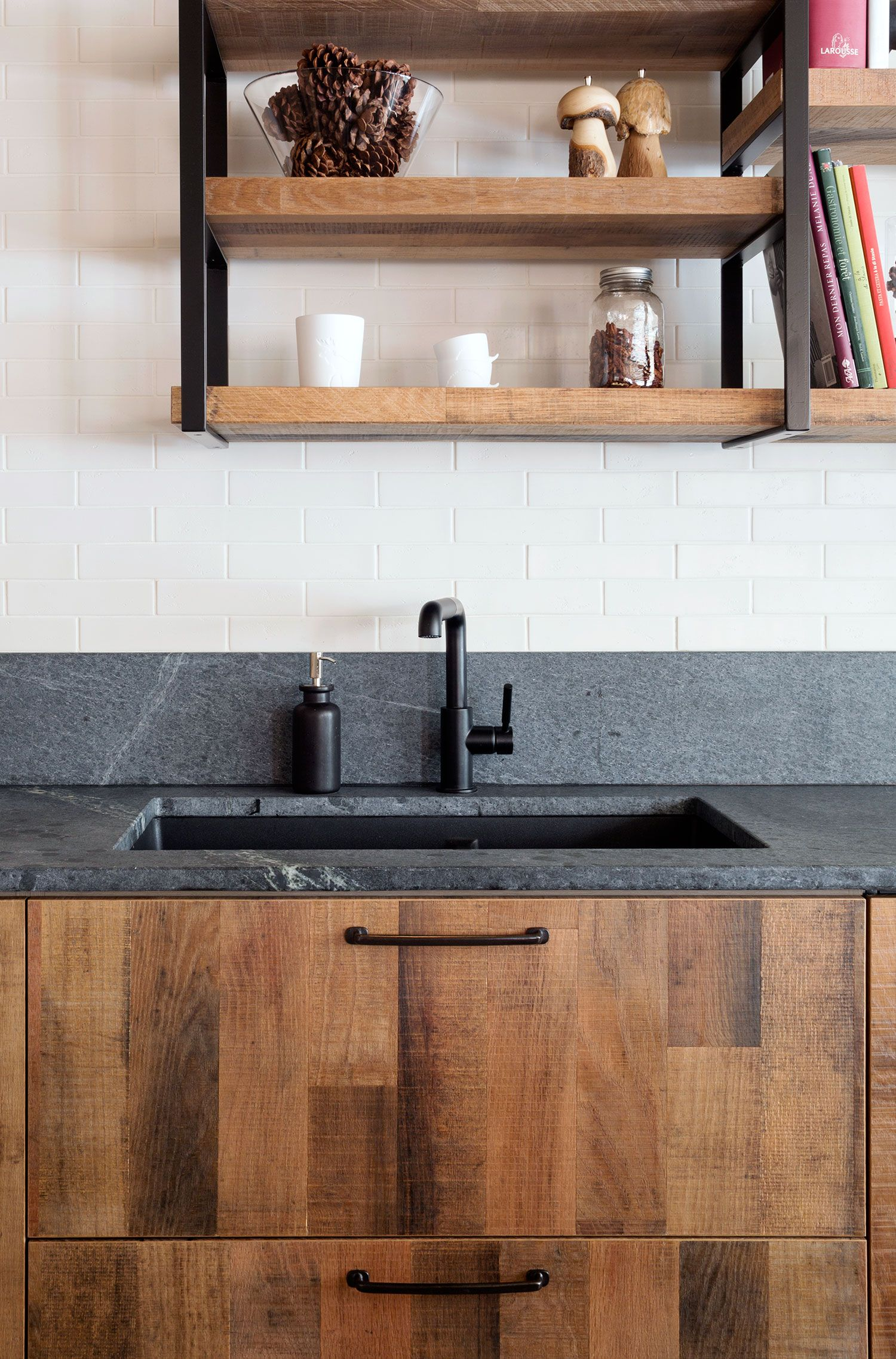 an urban rustic kitchen for a chef rue kitchens pinterest