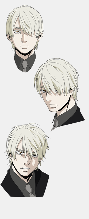 Gangsta Anime Visual And Additional Character Designs Posted Anime Character Design Character Design Male Character Design References