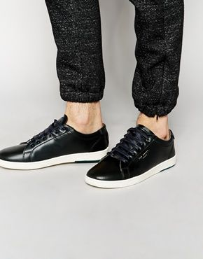 e61dc90db172 Ted Baker Theeyo Leather Sneakers