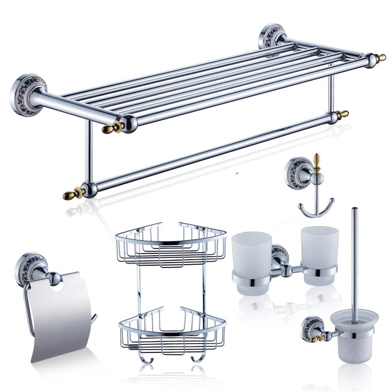 AUSWIND Classic Chrome Brass Silver Bathroom Products Bathroom