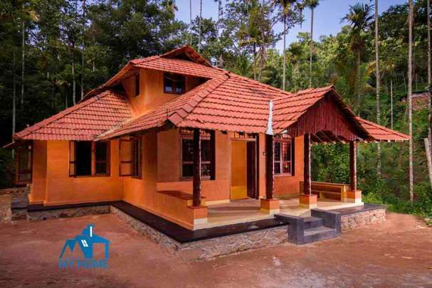 bedroom budget typical traditional home for lakhs in sqft free kerala plans house also rh pinterest