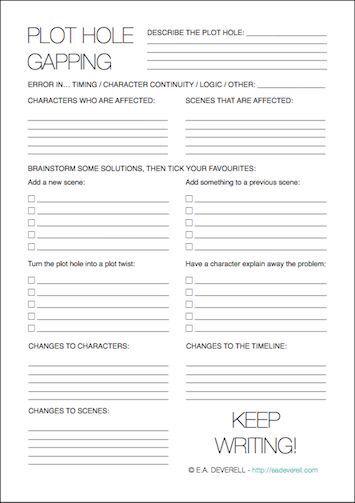 Character Sketch (Writer Worksheet Wednesday)   Writing worksheets ...
