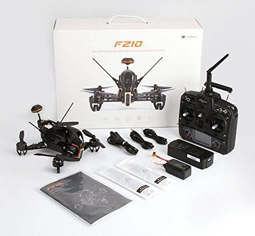 Walkera F210 Quadcopter Drone RTF Devo 7 Radio OSD 700TVL Camera FPV