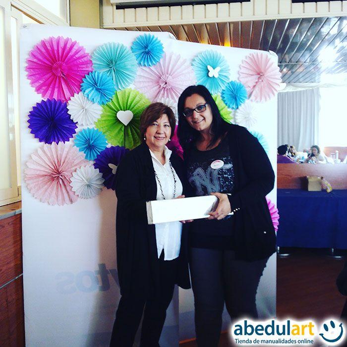 Ayer nos lo pasamos genial en el evento de #ScrapLabMadrid  ¡Podéis ver en nuestro Instagram fotos del evento y de los proyectos! Y el momentazo del día fue el sorteo del aplicador de foil First Edition Foil Applicator (http://bit.ly/1VdOwrb) que ganó Montse. ¡Enhorabuena!
