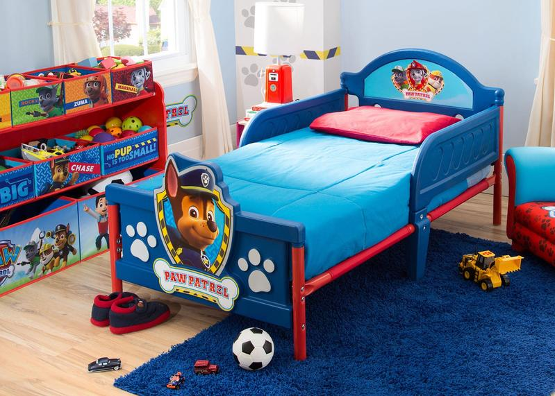 Paw Patrol Plastic 3d Toddler Bed Paw Patrol Bedroom Toddler Boy Room Themes Toddler Bed
