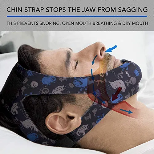 Anti Snoring Chin Strap For Cpap Users Men And Women Best Offer Luxclout Com In 2020 How To Stop Snoring Snoring Snoring Solutions
