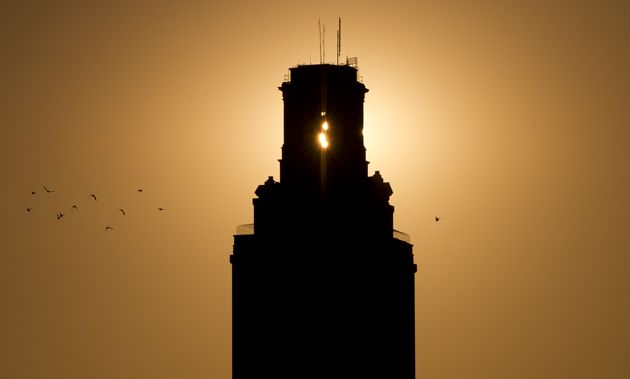 University of Texas Tower at Sunset